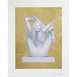 Sphinx (gold leaf)
