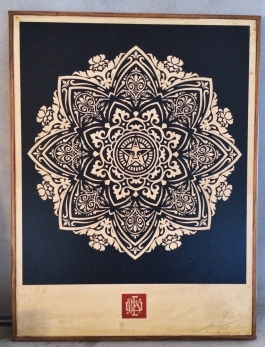 Mandala Ornament - Black