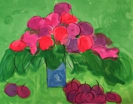 I Love Cherries and Flowers