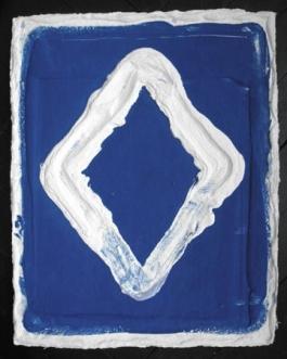Losange Blue