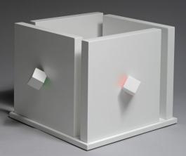 Cube atmosphére chromoplastique