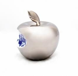 Small Apple - silver