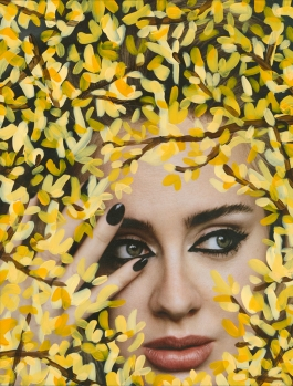 'Untitled' (Adele by Alasdair McLellan for i-D, Winter 2015, Yellow)