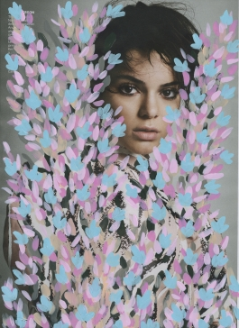 'Untitled' (Kendall Jenner by Inez & Vinoodh for Vogue, March 2016, Pink)