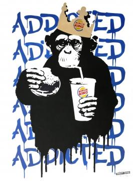 Fast Food Monkey – Burger King Blue