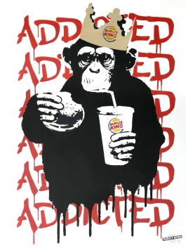Fast Food Monkey – Burger King Red