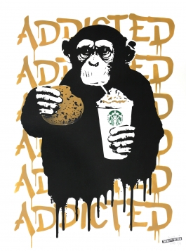 Fast Food Monkey – Starbucks Beige