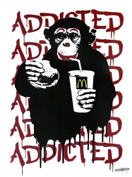 Fast Food Monkey – McDonald's Red