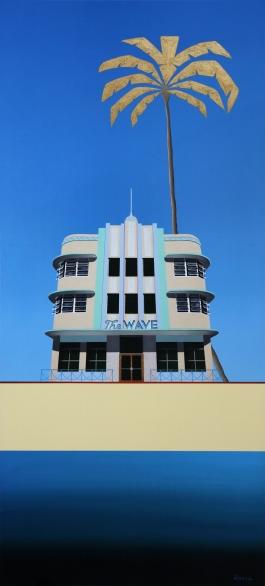 Miami Deco Buildings – The Wave