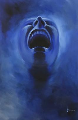 Smoke Screen - Deep Blue