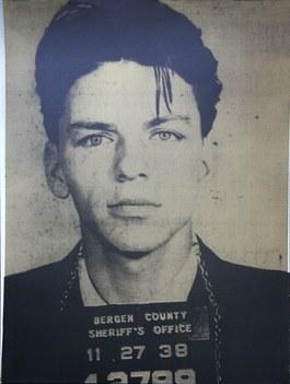Frank Sinatra (Pig Portraits, Gold)