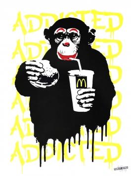 Fast Food Monkey – McDonald's Yellow
