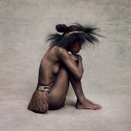 Young Woman with Paradise Bird Headpiece, New Guinea