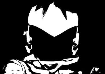 Starfighter Maximiliano Deimos (Black & White)