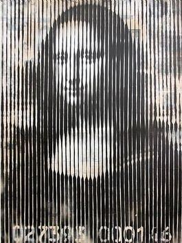 Mona Lisa Barcode