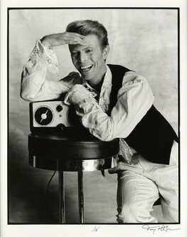 David Bowie Listens to BBC Radio 4