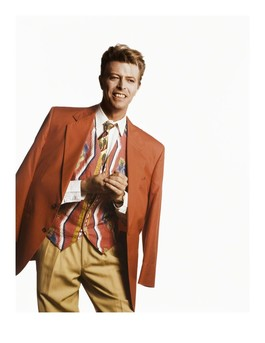 David in His Red Jacket, McGee Studios
