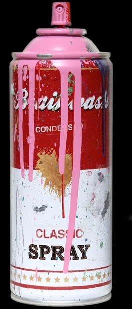 Tomato Spray Can (Pink)