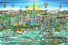 The wonders of Dubai