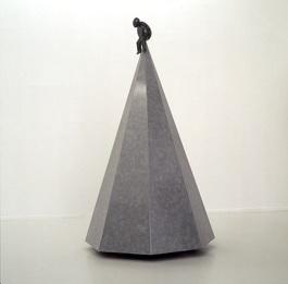 Eggy sculpture, the tumbler