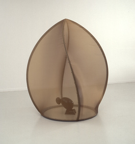 Eggy sculpture, the cage