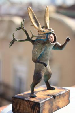 Guardian observer - Conejo con kabuto