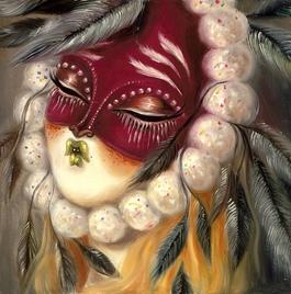 Pom Pom Mask II