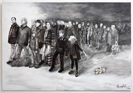 The exodus of artists