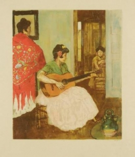 La Guitariste / La Guitarera, 1893