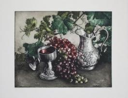 Stillleben Mit Wein / Still Life With Wine