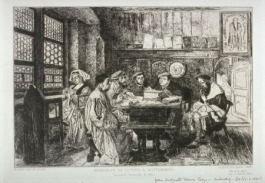 La Lecture Chez Luther, 1867