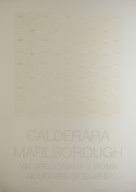 Marlborough (Signed Silkscreen Exhibition Poster On Fine Paper)