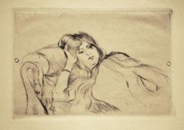 Jeune Fille Au Repos, 1887