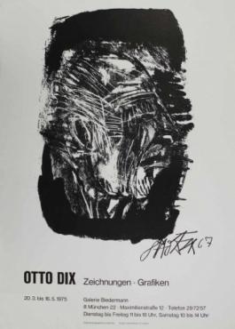 Otto Dix Zeichnungen - Grafiken