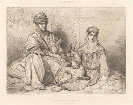 Femmes Mauresques (De Constantine), 1851