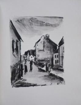 Mont-Cinère. Lithographies De Vlaminck.