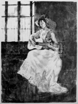 La Guitarera / La Guitariste, 1893