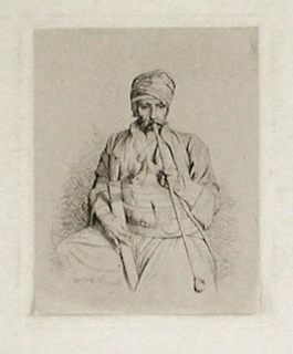 Fumeur Égyptien Au Turban, 1865