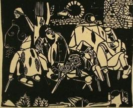 Die Bettler (Nach Bruegel) / The Beggars (After Bruegel)