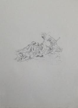 Die Soldaten Müssen Im Schnee Kampieren