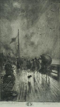 Un Débarquement En Angleterre, 1879