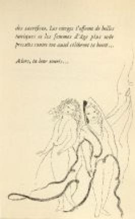 Poèmes De Sapho, Illustrés De 23 Eaux-Fortes Par Marie Laurencin