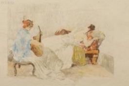 Le Repos Des Danseuses, 1893