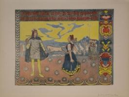 Myllardottri Dansar..., 1895