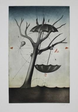 Zwei Schirme