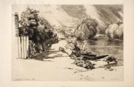 La Seine Au Bas Meudon, 1868