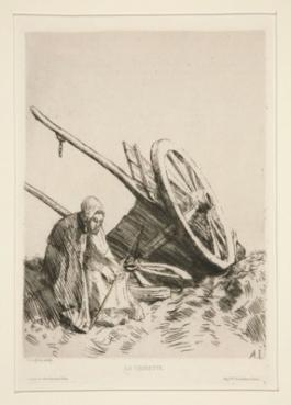 La Charrette Brisée, 1876