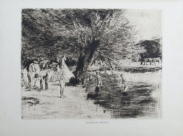 Badende Jungen, 1886