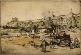 La Seine Au Pont Du Carrousel