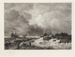 La Tempête (The Storm) [With] Brisants, Granville (Breakers, Granville)